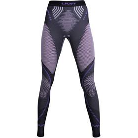 UYN Evolutyon Melange UW Pantalon Femme, anthracite melange/raspberry/purple